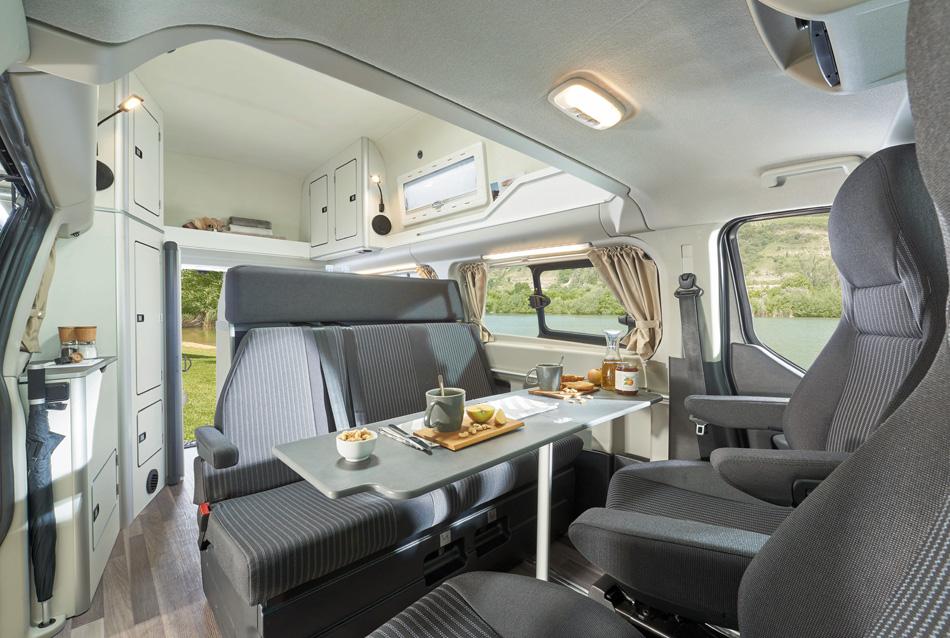 Franz Aiginger Gmbh Hausmening Ford Nugget Reisemobil